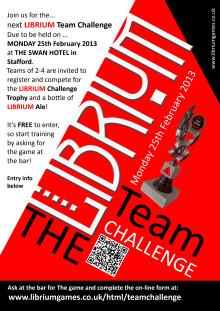 LIBRIUM Team Challenge