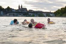 Mit dem Wickelfisch durch Basel schwimmen
