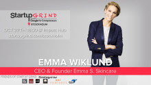 Swedish icon Emma Wiklund at Startup Grind
