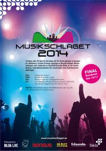 Affisch för Musikschlaget