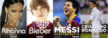 Tenåringsidoler og fotballstjerner