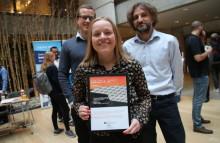 Omtale på Bygg.no: Norconsults Nina Eklo Kjesbu vant Nyskapingsprisen 2017