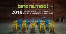 Välkommen till binero.meet, ett gratis halvdagsseminarium arrangerat av Binero Group !