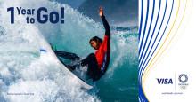 Visa láká na Bezkontaktní Japonsko, rok před začátkem olympijských her v Tokiu