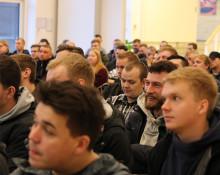 MARTEC bød velkommen til 107 nye maskinmesterstuderende