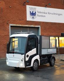E-TRON levererar elfordon till Örebro Kommun