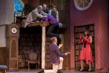 Publik och kritiker överens! Sverigepremiären för The Play That Goes wrong - Allt gick åt helvete - med Bravur!