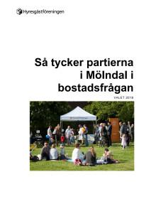Så tycker politikerna i Mölndal i bostadsfrågan