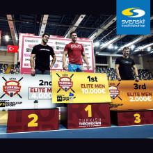 Lukas Högberg tog guldmedalj i CrossFit