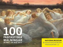 Finalhelg för 100 fantastiska målningar