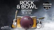 Sköna gitarriff och bowling på Pitcher´s i Örebro!