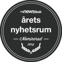 Diligentia nominerade till Årets Nyhetsrum 2014