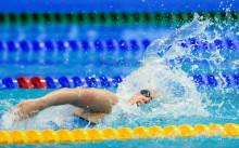 Universiaden: Nathalie Lindborg klar för semifinal på 100 fritt - Kristian Kron ej vidare på 200 medley trots årsbästa