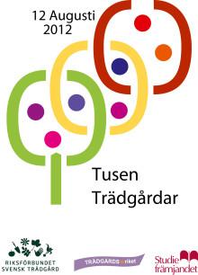 Tusen Trädgårdar 12 augusti 2012 – välkommen till monter A26:21 på Nordiska trädgårdar