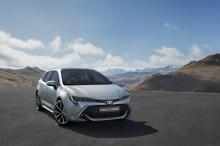 Premiär för Toyota Corolla Touring Sports