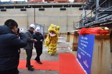 Stena Lines nya RoPax-färjor börjar ta form