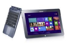 Sann konvergens: Mer flexibilitet än någonsin med Samsung ATIV Smart PC