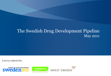 The Swedish Drug Development Pipeline 2011