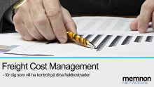 Memnon Networks ger företag möjlighet att hantera sina fraktkostnader med nya Freight Cost Management