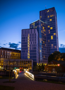 10 000 deltog på invigningen av Clarion Hotel & Congress Malmö Live