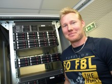 Emil Karlsson, Öckerö kommun, får Skattebetalarnas GNET-pris 2011