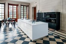 Glamour i køkkenet