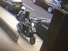 Appeal to trace scooter enabled robbers who left victim with dislocated shoulder