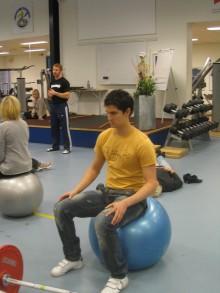 Hjälp med träning och behandling inför tävling