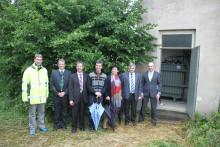 Presseinformation: Energiezukunft in Weiding – Bayernwerk bringt innovative Netztechnologie zum Einsatz – Regelbarer Ortsnetztrafo (RONT) in Betrieb genommen