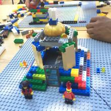 Barnen bygger sin egen park