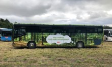 Hop om bord på shuttle busserne til SMUK fest med grøn samvittighed.