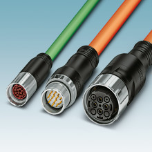 Full range of round-plug connectors from M5 to M58