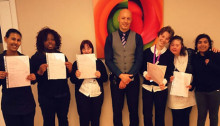 Mitie helps young people into work at St George's Hospital