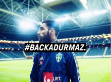 Stadium supportar #backadurmaz