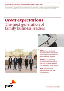 Next generation of family business leaders ambitious to drive change