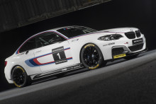 BMW M235i equipped with Dunlop for the 2014 racing season