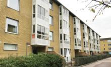 """Utbyggda och inglasade balkonger i Brf Tuvehus 6 gav boende ett """"extra rum"""""""