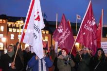 Sälj inte ut våra hem - demonstration