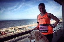 Blue skies for Brighton Marathon fundraisers
