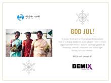 Julhälsning och öppettider