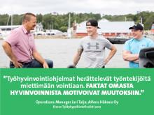 Alfons Håkans – Eteran Työkykypalkintofinalisti 2017: Merellä puhalletaan yhteen hiileen