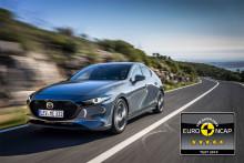 Mazda3 får 5 stjerner af EuroNCAP