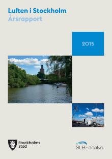Luften i Stockholm - Årsrapport 2015