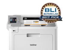 Brother printer gekozen als uitstekende kleurenlaser voor het MKB