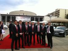 Svensk seger i kategorin service i Audi Twin Cup 2012