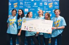 Unga digitala talanger löser skolans utmaningar: Christinaskolan, Fredrikshovs Slotts skola och Kista Grundskola topp tre i Next Up Stockholm