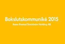 Bokslutskommuniké 2015
