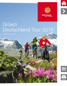 """Tourguide der """"Grüezi Deutschland Tour 2018"""""""