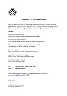 Program seminarium 21 april