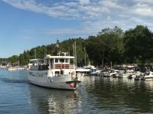 Många resenärer besökte Roslagens skärgård i sommar